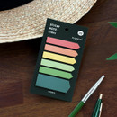 02 Tropical - ICONIC Index sticky memo point bookmark set