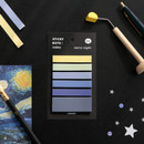01 Starry Night - ICONIC Index sticky memo point bookmark set