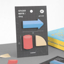 07 Arrow - ICONIC Tiny sticky memo bookmark notepad set
