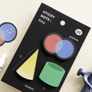 05 Union - ICONIC Tiny sticky memo bookmark notepad set