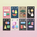 ICONIC Tiny sticky memo bookmark notepad set