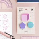 06 Cube - ICONIC Tiny sticky memo bookmark notepad set