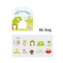08 dog - ICONIC Nana cute sticker pack
