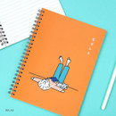 Relax - DESIGN GOMGOM My You Common days wire-bound lined notebook