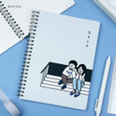 With You - DESIGN GOMGOM My You Common days wire-bound lined notebook