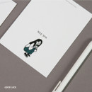 Good Luck - DESIGN GOMGOM My You mini card and envelope set