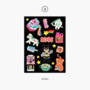 03 kitsch - Project retro my juicy bear removable sticker