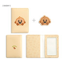 SHOOKY - BT21 Baby card case with leather sticker