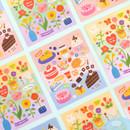 Ardium Dessert and Flower unbelievable removable sticker