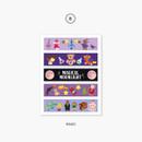 Magic - Second Mansion Juicy bear masking sticker seal 01-08