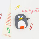 ROMANE Penguin AirPods silicone case cover
