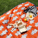 Usage example - ROMANE Cute Water-resistant picnic mat with bag