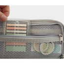 Mesh zip pocket -  After The Rain On the table zipper pen case pouch