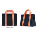 Midnight Navy -Monopoly Air mesh insulated lunch tote bag