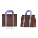 Milky Brown - Monopoly Air mesh insulated lunch tote bag
