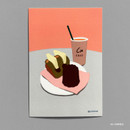 03 CANNELE - Design comma-B Sweet dessert illustration postcard
