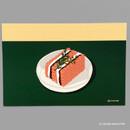 10 COCONU ANG BUTTER - Design comma-B Sweet dessert illustration postcard