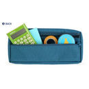 Back pocket - Monopoly Mellow M-pocket zipper pencil case pouch ver2