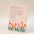 Tulip - Ardium 2021 large dated monthly planner scheduler