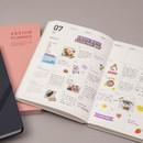 Monthly plan - Ardium 2021 Simple medium dated weekly planner scheduler