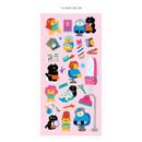 14 hair salon - ICONIC Joy mini removable sticker seal