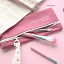 Vintage rose - ICONIC Cottony flat zipper pencil case pouch