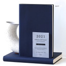 Navy - Indigo 2021 Official soft dated monthly diary planner