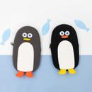 ROMANE Brunch Brother penguin zipper pencil case