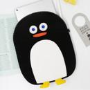 Black - ROMAaNE Penguin iPad Pro tablet PC 11 inches sleeve case