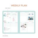 Weekly plan - PLEPLE 2021 Chou Chou dated weekly planner scheduler