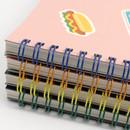 Wire binding - Bookfriends Reading pet wire bound blank notebook