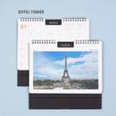 EIFFEL TOWER - Ardium 2021 Europe travel monthly desk calendar