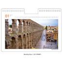 Monthly plan(front) - Ardium 2021 Europe travel monthly desk calendar