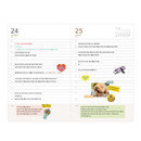 Daily plan - Ardium 2021 365 days medium dated daily journal diary