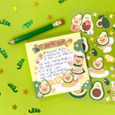 Usage example - Project fruit my juicy bear removable sticker