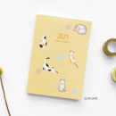 Cute Cat - O-CHECK 2021 Spring come dated monthly planner scheduler
