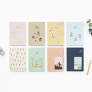 O-CHECK 2021 Spring come dated monthly planner scheduler