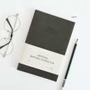 Gray - Indigo 2021 Official small dated monthly planner scheduler