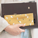 Usage example - ICONIC Comely flat zipper pencil case