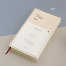 Ivory - Iconic 2021 Simple small dated weekly planner
