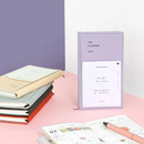 Iconic 2021 Simple small dated weekly planner