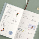 Weekly plan - Iconic 2021 Simple small dated weekly planner