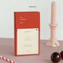 Vermilion - Iconic 2021 Simple small dated weekly planner