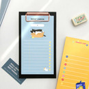 Usage example - ICONIC Merry clipboard memo holder