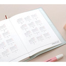 Calendar - Iconic 2021 Simple medium dated weekly planner