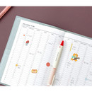 Yearly plan - Iconic 2021 Simple medium dated weekly planner