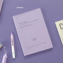 Lavender - Iconic 2021 Simple large dated monthly planner