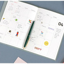 Monthly plan - Iconic 2021 Simple large dated monthly planner