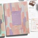 Simple Pink - O-check 2021 Les beaux jours dated weekly diary planner