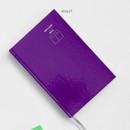 Violet - GMZ Brilliant dateless weekly planner scheduler